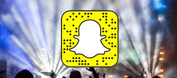 Ultimate List Of EDM Producer's Snapchat Usernames - Cymatics