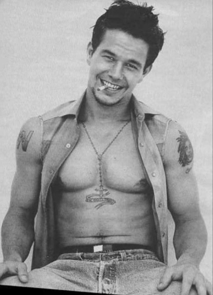 Mark Wahlberg - El hombre rudo más tierno de todos.