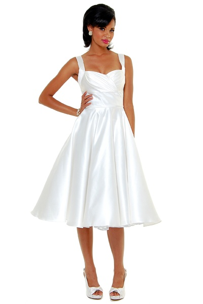 119 Best Cocktail Amp Tea Length Wedding Dresses Images On
