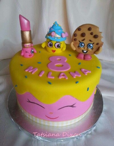 Shopkins cake idea