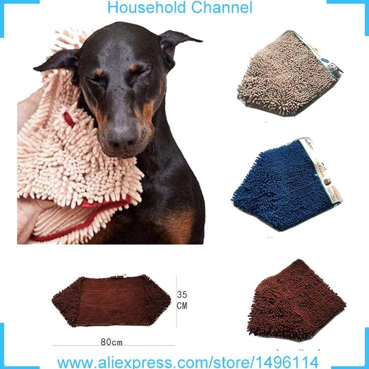 BIG DOG Bathing Supplies Bath TOWEL Microfiber Blanket Drying Fleece Ultra-absorbent Bathrobe Antibacteria toalha de banho // Worldwide FREE Shipping //     #dogs