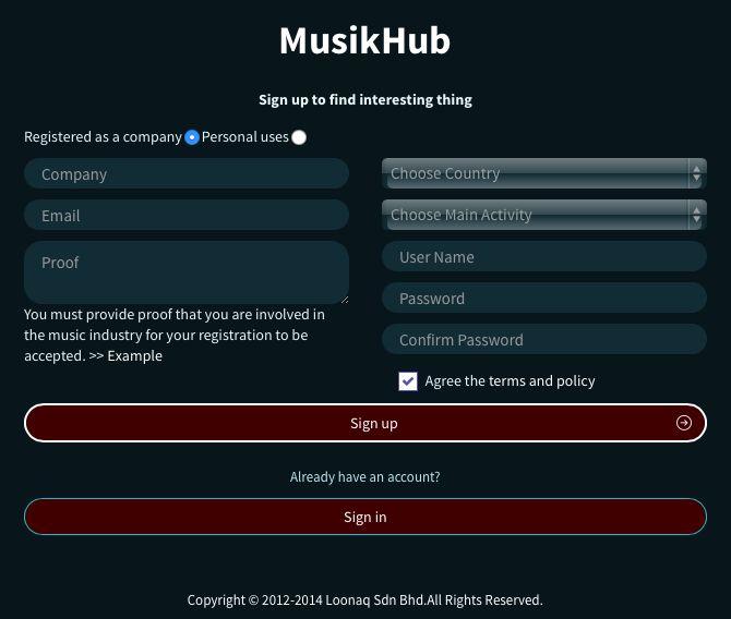 KontenPreneurs Community: MusikHub Web/Mobile Application: Pelantar Pemasaran Digital Kontent dari Nusantara Melayu Islam