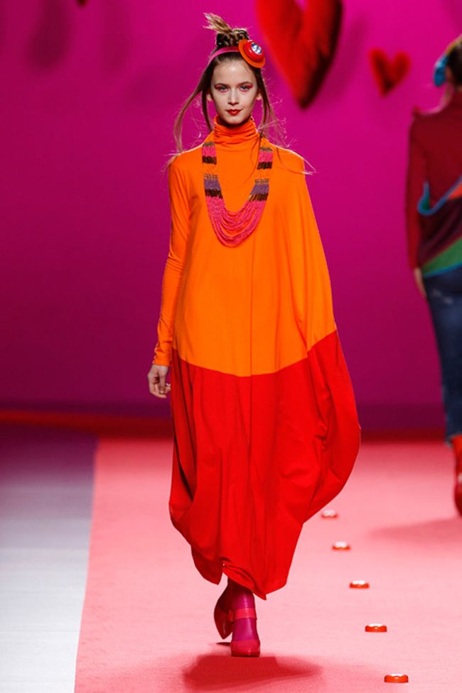 La collezione A/W 2011 di Agatha Ruiz De La Prada è stata presentata a Madrid, sua città natale.