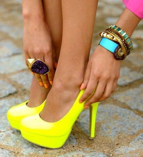 buty damskie - ostre kolory :)