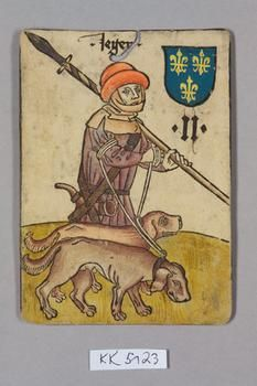 "Jäger [Hunter] Frankreich [France], ""Hofämterspiel"" for King Ladislas of Hungary, ""Posthumus"", c. 1455"