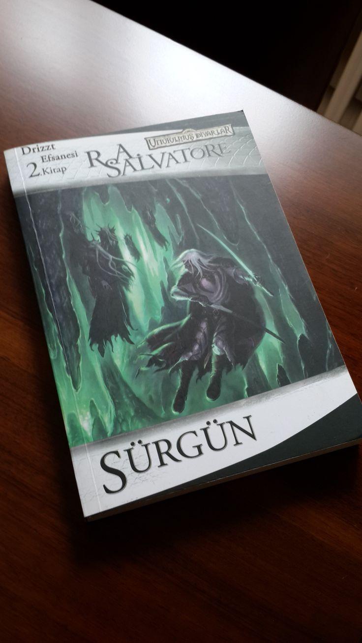 Sürgün - R.A. Salvatore (Kara Elf Üçlemesi)