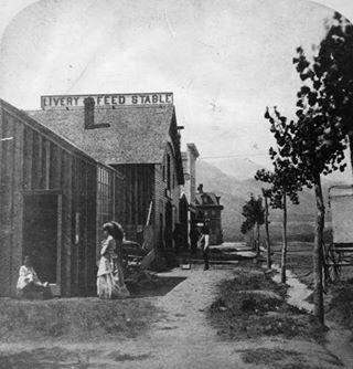 Pikes Peak Ave. Colorado Springs, Colorado...1863
