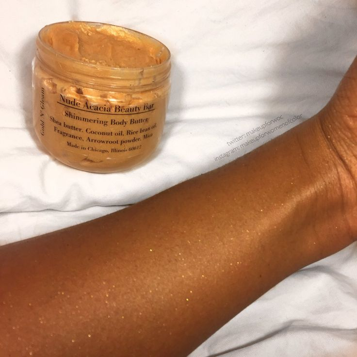 XOXO: Nude Acacia Beauty Bar's Shimmering Body Butter