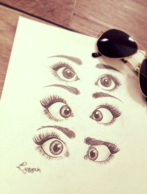 My own drawing if you find it difficult to draw an eye