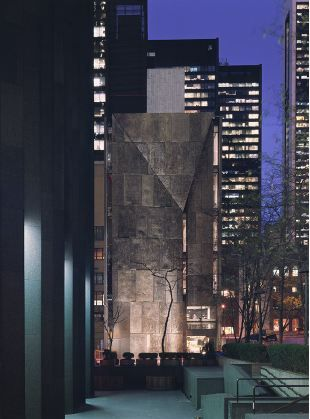 Tod Williams + Billie Tsien. Let's hope that MoMA doesnt tear down this great little building.
