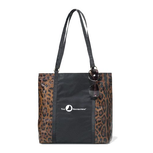 The Navigators Navigators Instincts Cheetah Print Fashion Tote The Navigators. Additional styles available at http://www.navigatorstores.com/navigator_store__duffles_totes_and_backpacks.