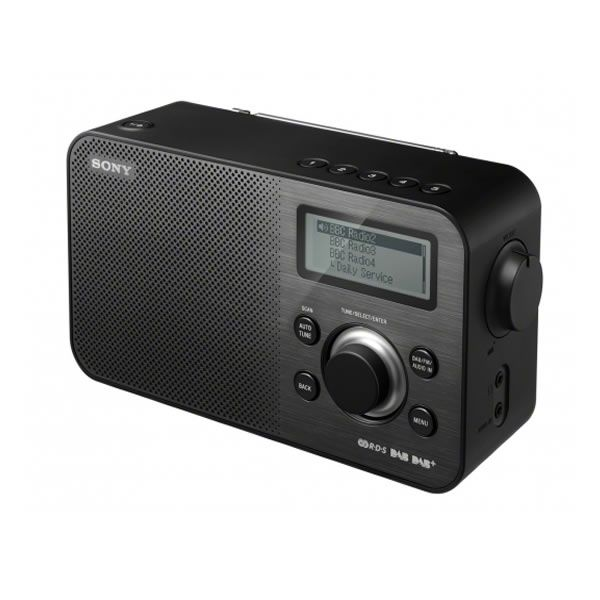 Sony XDRS60DBPB DAB /DAB/FM Digital Radio Retro Design 10 Presets Black http://www.MightGet.com/january-2017-13/sony-xdrs60dbpb.asp