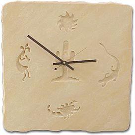 kokopelli clock   Southwestern Clock