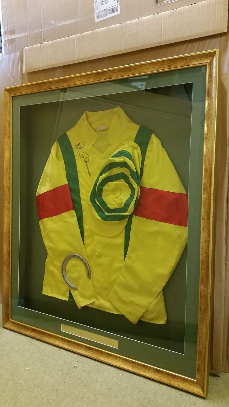 97 best memorabilia framing images on pinterest frames picture racing silks worn by peter scudamore on run skip winning numerous races 1984 jeuxipadfo Images