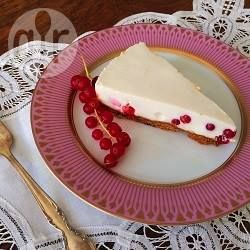 Light Redcurrant Cheesecake @ allrecipes.com.au