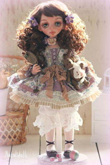 Коллекционные куклы ручной работы. Ярмарка Мастеров - ручная работа Мелитта. Handmade.