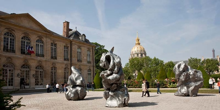 The Musee Rodin in Paris. A beautiful space well worth visiting, a calm place in a sometimes hectic city.