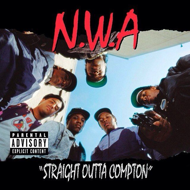 In #1988 #NWA featuring #DrDre and #EazyE release the debut studio album #StraightOuttaCompton. (Its title referring to the group's native town #Compton #California) Production for the album was handled by Dr. Dre with #DJYella giving co-production. The album has been viewed as the pioneering record of #GangstaRap; with its ever-present profanity and violent lyrics it helped to give birth to this then-new sub-genre of #HipHop. It has been considered groundbreaking by music writers and has…