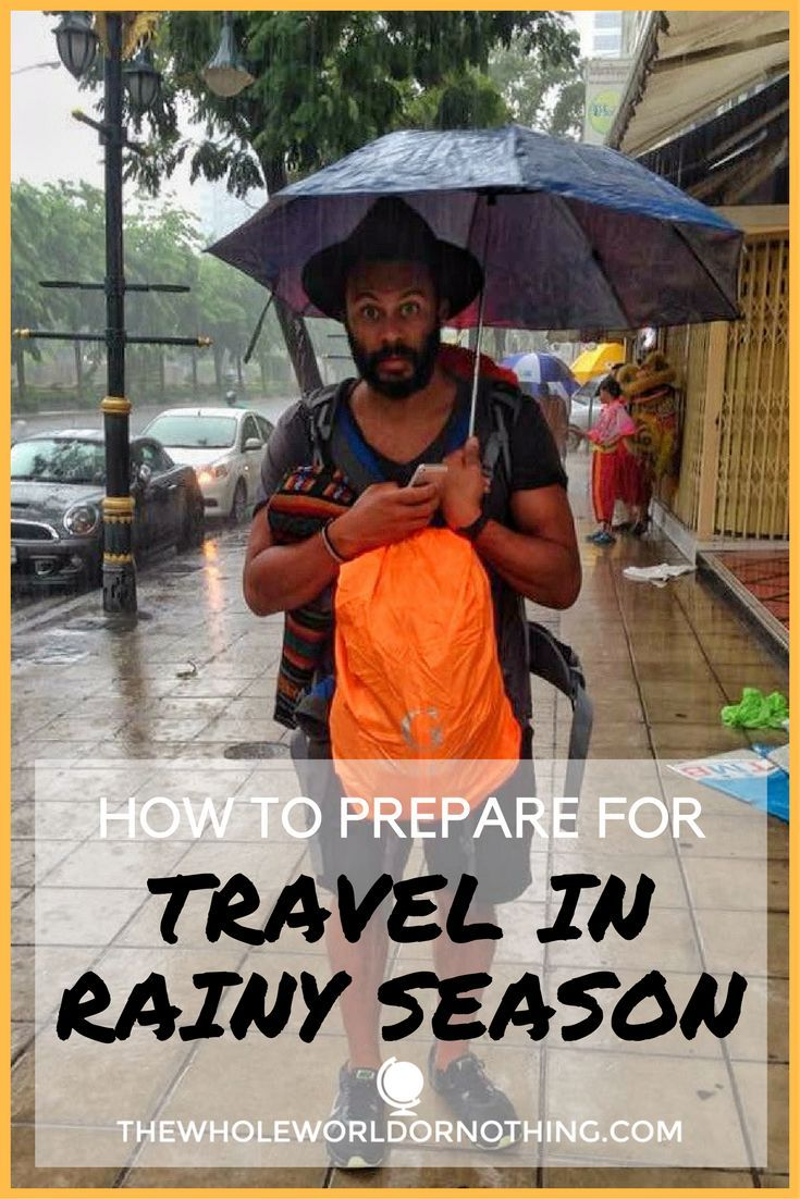 How To Prepare For Travel In Rainy Season | Travelling in Wet Season Tips | What To Pack For Travelling in Rainy Season | Wet Season Travel in SE Asia | Rainy Season Travel in South America | Benefits of Rainy Season Travel | Budget Backpacking Tips | Travel Money Saving Tips