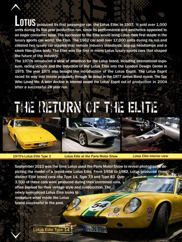 The return of the Lotus