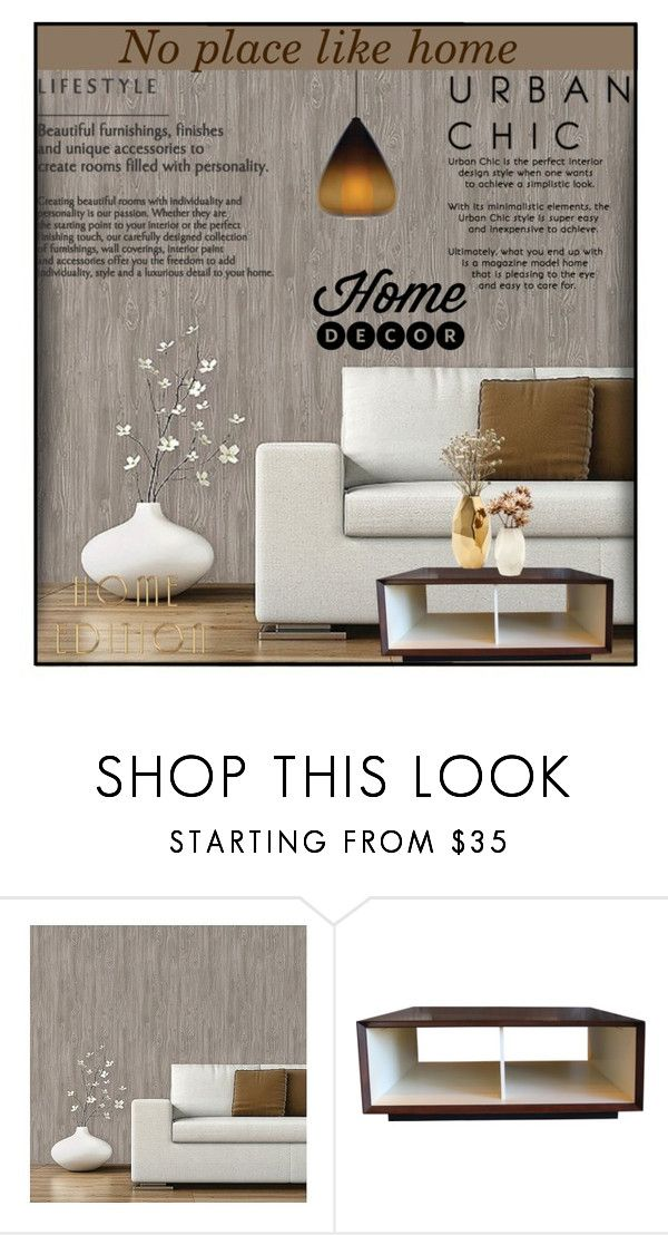 """""""Untitled #7799"""" by ana-angela ❤ liked on Polyvore featuring interior, interiors, interior design, home, home decor, interior decorating, Devine Color, Nate Berkus and Tech Lighting"""
