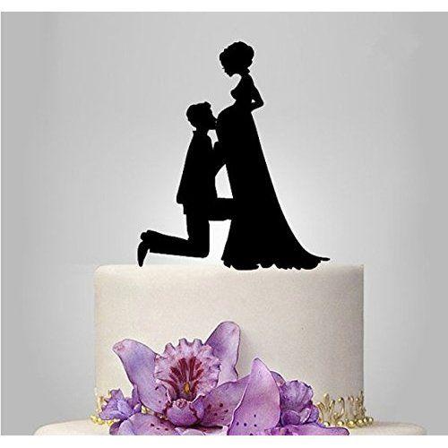Mr & Mrs Hochzeitstorte Topper Acryl Kuchendeckel