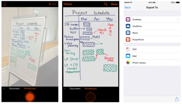 Microsoft brings Office Lens scanner app to iPhone and Android for the first time