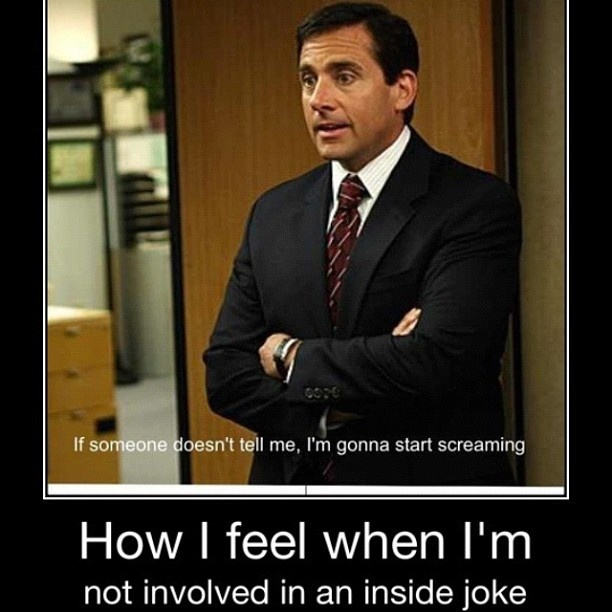 <3Inside Jokes, Laugh, Funny Humor, Offices Quotes, So True, Funny Stuff, The Offices, True Stories, Michael Scott