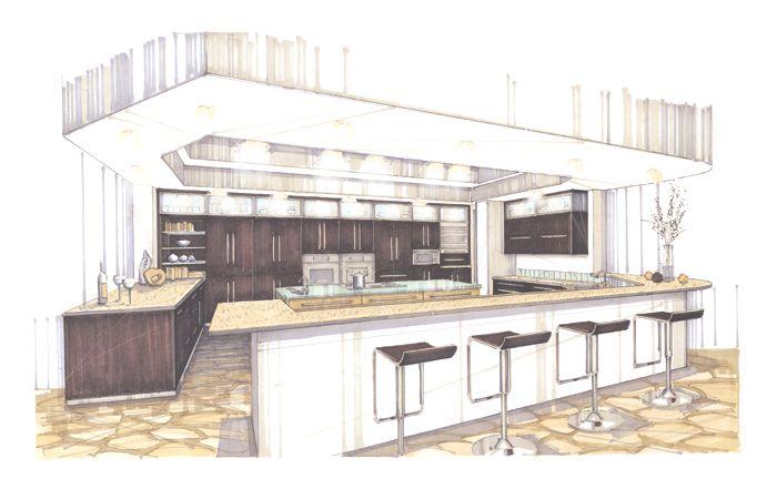 126 besten mano alzada bilder auf pinterest architekt for Studium interior design