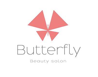 """Check out new work on my @Behance portfolio: """"Butterfly beauty salon logo design concept"""" http://be.net/gallery/59501497/Butterfly-beauty-salon-logo-design-concept"""