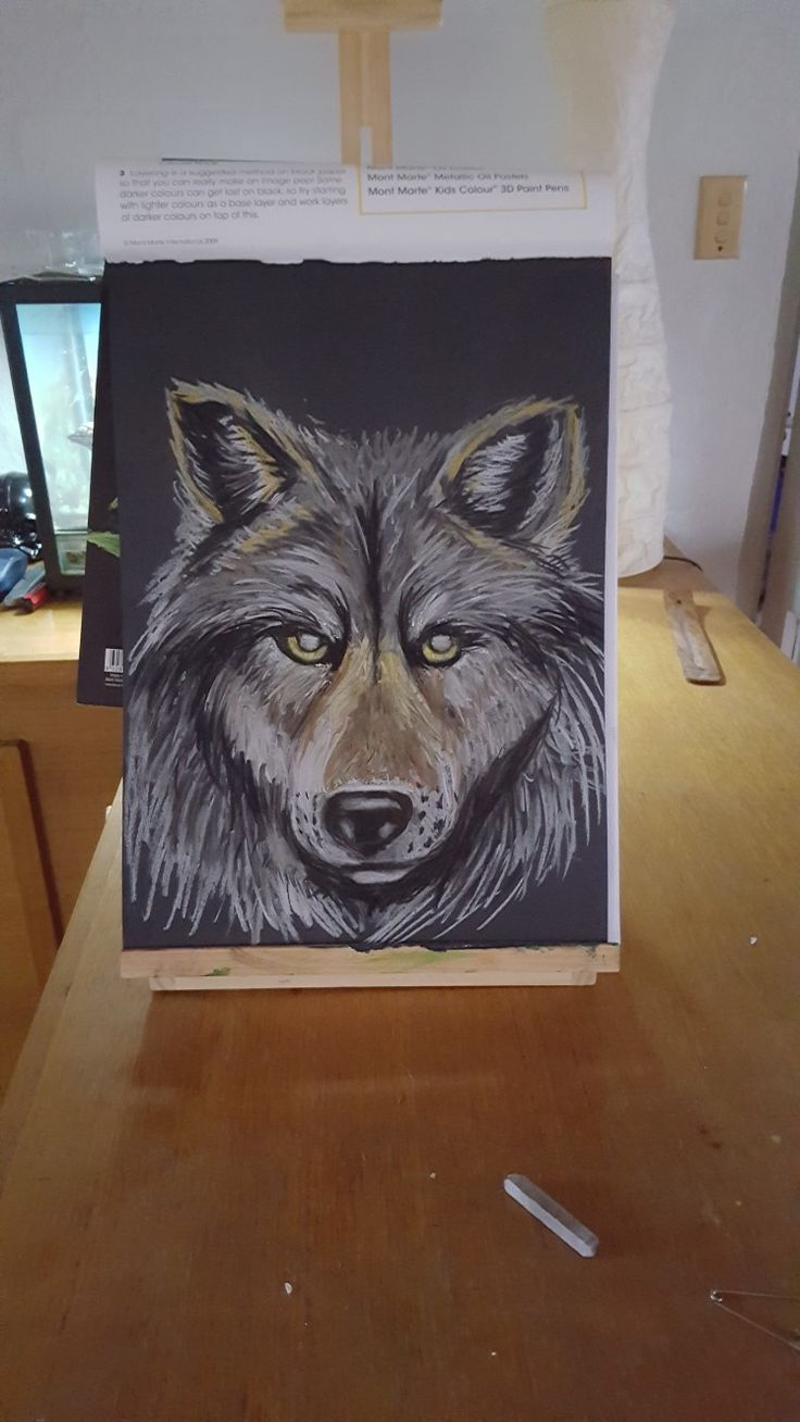Totem wolf #artnwitchcraft
