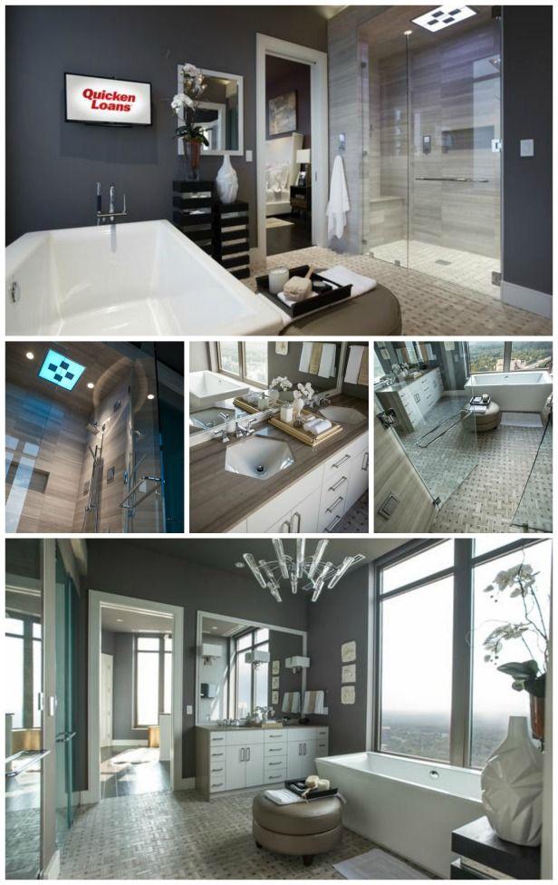 Dream Big in Atlanta With HGTV Urban Oasis 2014 (http://blog.hgtv.com/design/2014/08/29/dream-big-in-atlanta-with-hgtv-urban-oasis-2014/?soc=pinterest) #HGTVUrbanOasisMy Dreams Home, Dreams Big, Shower Tile, Master Bathroom