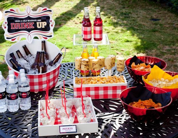 table setting ideas for your memorial day bbq summer grilling