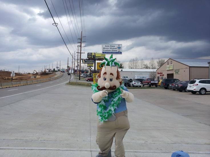 Happy St. Patrick's Day #pattysday #stpatricksday #events #promotions #marketing #fun #mascot