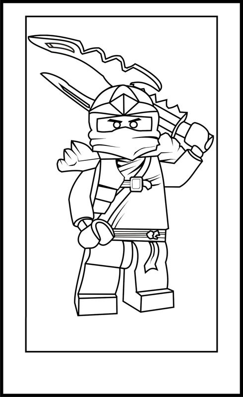 44 best Colouring--Lego Ninjago images on Pinterest Lego ninjago - best of mini ninja coloring pages