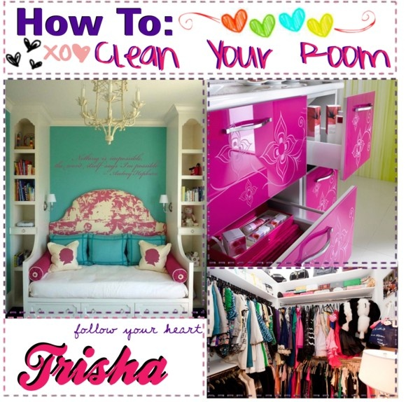 how to clean your room by tip and icon girls xoxo liked on polyvore tip pinterest room. Black Bedroom Furniture Sets. Home Design Ideas