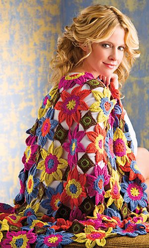 Vivaldi Throw: Crochet Ideas, Colors Crochet, Crochet Books, Crochet Emagazin, Crochet Patterns, Spring 2013, Crochet Magazines, Crochet Knits, Baby Shawl Crochet