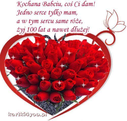 Dla Kochanej Babci! http://kartki4you.pl