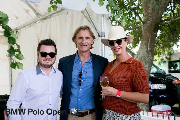 Guests at the polo