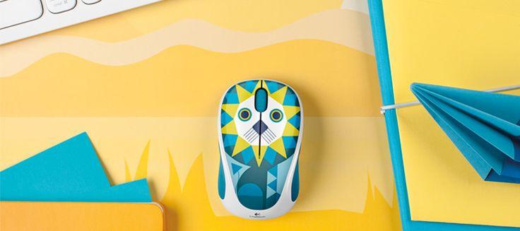 M238 - kabellose Maus aus der farbenfrohen Logitech Play Collection.