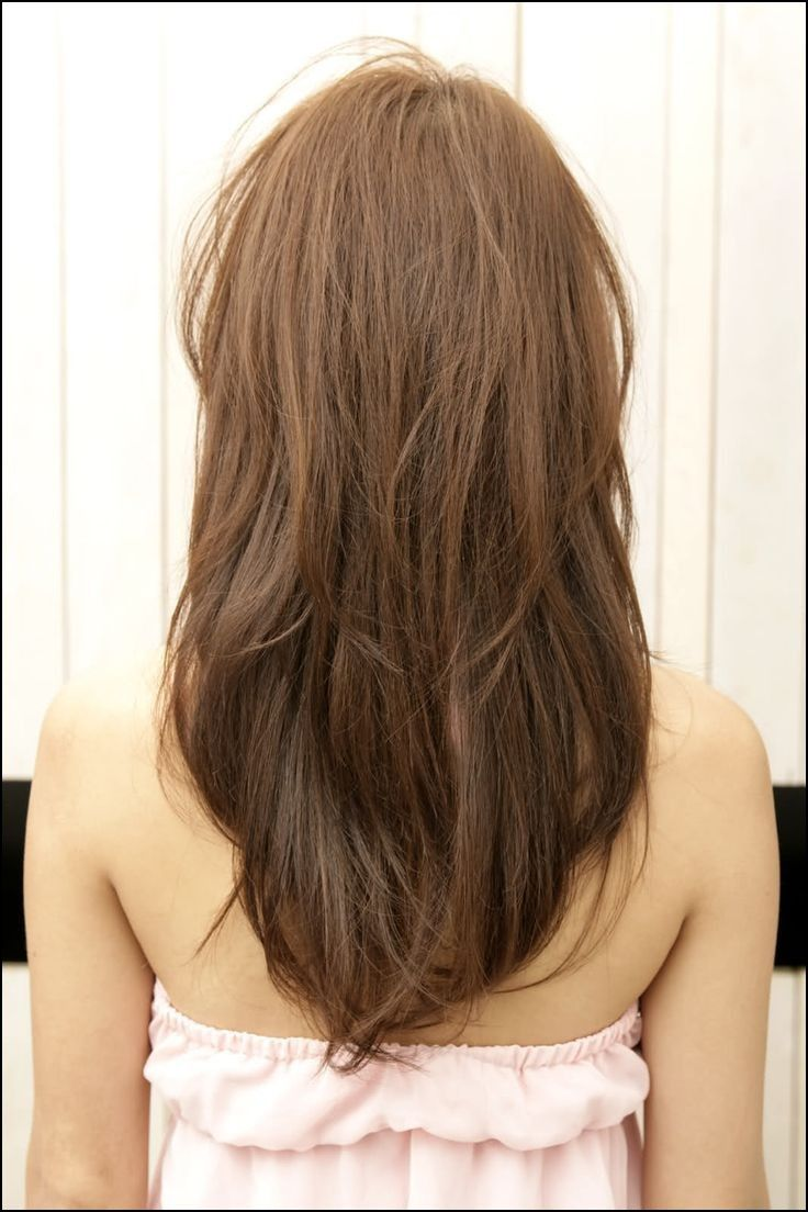 Medium V Haircut