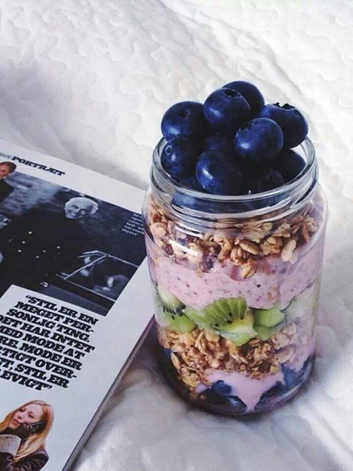 Mason jar meals // | Breakfast | Pinterest | Masons, Jars and Mason ...