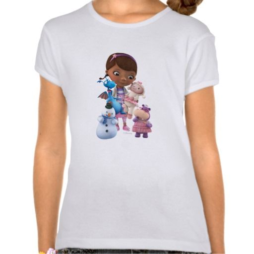 Doc McStuffins and Her Animal Friends. Regalos, Gifts. #camiseta #tshirt