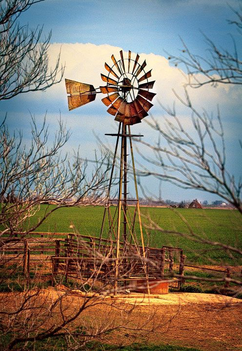 Lilly's - Old Farm Windmill by Picture That!...                                                                                                                                                      More