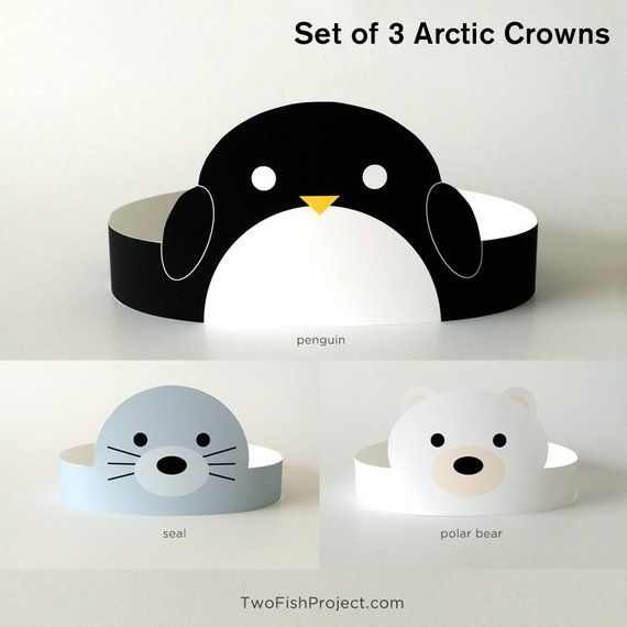Arctic Animal Baby Shower Supplies/Decor/Decorations