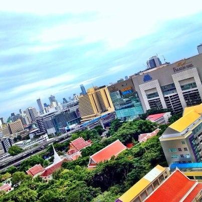 Good view of Bangkok City #DusitDreamHoliday by Sarayoot Tangjitpaew