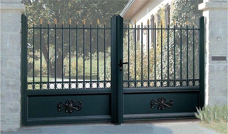 Le portail en Alu Rétro - Art & Fenêtres fabricant pose de portails