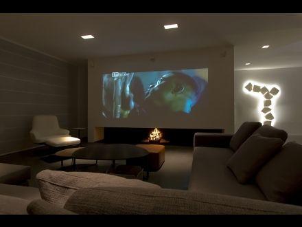 25+ beste ideeën over Heimkino beamer op Pinterest - Tv wand - beamer im wohnzimmer