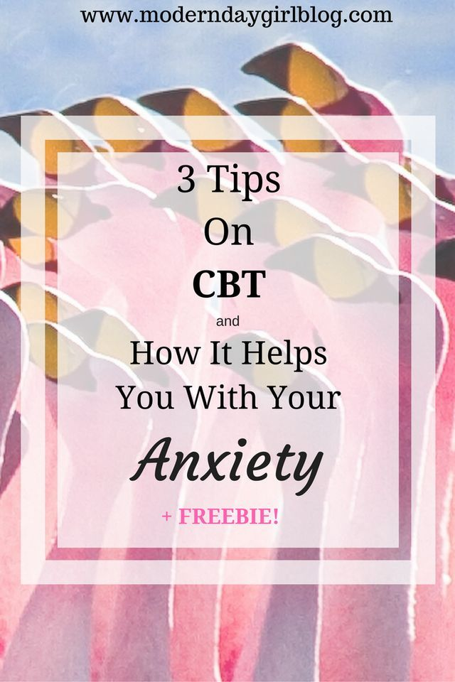 What is CBT? How does it work and will it help you? Learn whether it will help you with your anxiety + FREEBIE to download. Get it now!
