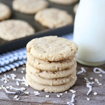 Chewy Coconut Oatmeal Cookies | Desserts | Pinterest
